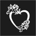 Cherubs on Heart