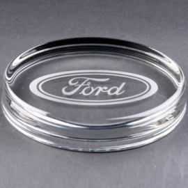 Flat Oval Paperweight (4