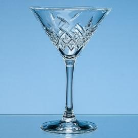Dazzle Cut Martini/Cocktail Glass