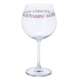 Gindependant Woman Gin Glass