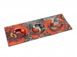 Poppy Design Tea Light Plate