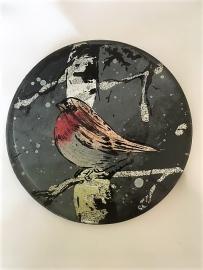 Winter Robin Coasters (Set of 4)
